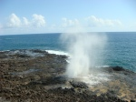 Spouting Horn on the South shore of Kauai